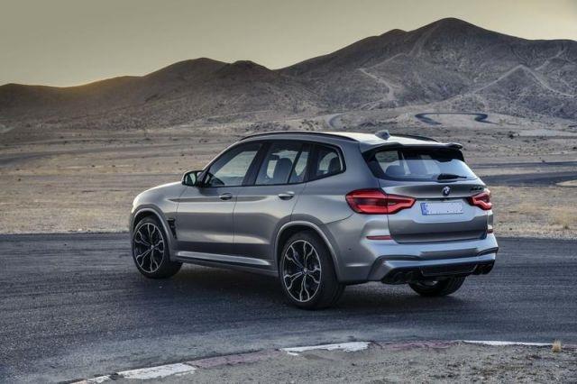 2020 BMW X3 M rear