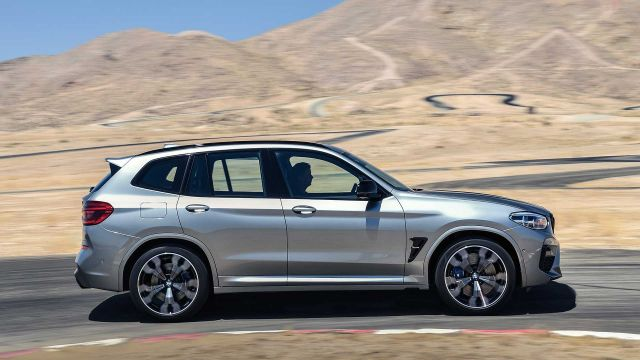 2020 BMW X3 side