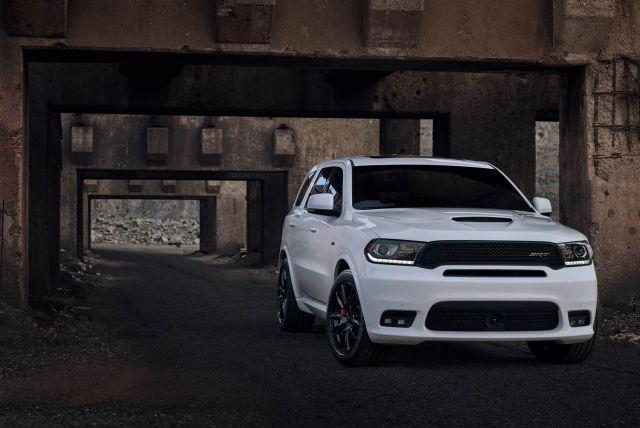 2020 Dodge Durango front