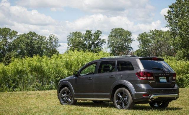 2020 Dodge Journey rear view