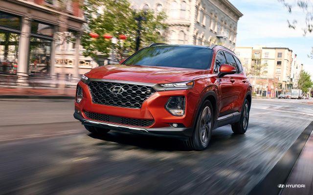 2020 Hyundai Santa Fe look