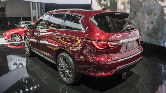 2020 Infiniti QX60 rear