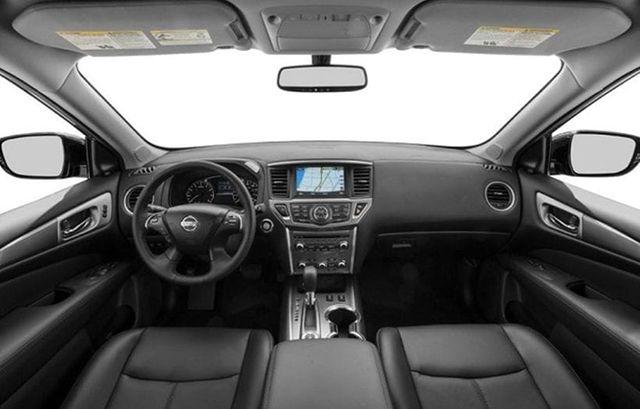 2020 Nissan Pathfinder cabin