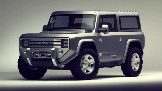 2020 Ford Bronco two-door