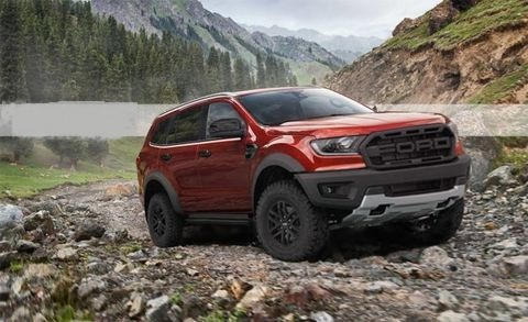2020 Ford Everest Raptor version
