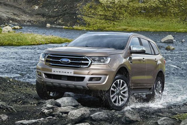 2020 Ford Everest front