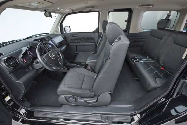 2020 Honda Element interior