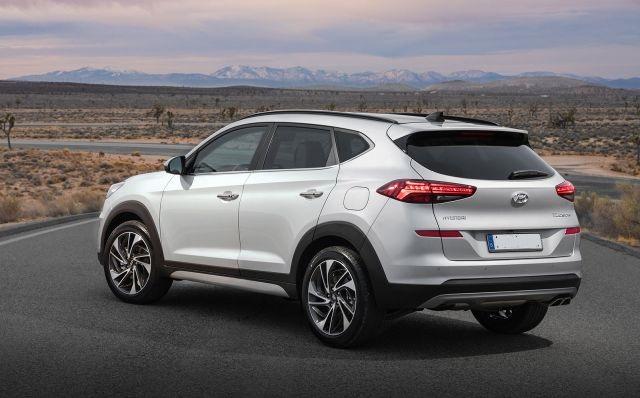 2020 Hyundai Tucson rear