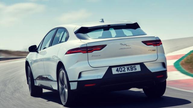 2020 Jaguar I-Pace rear