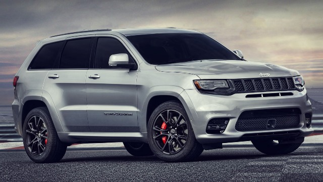 2020 Jeep Grand Cherokee SRT exterior