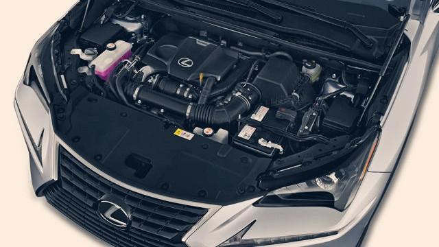 2020 Lexus NX engine