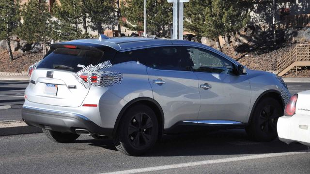 2020 Nissan Murano rear
