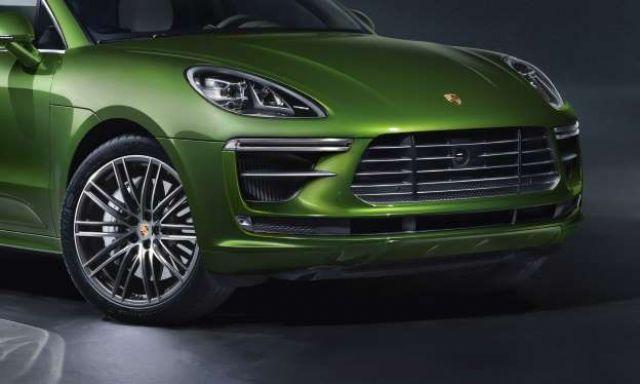 2020 Porsche Macan front