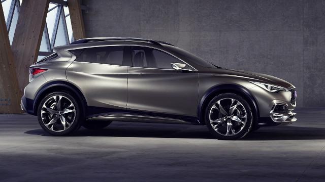 2020 Infiniti QX70 facelift