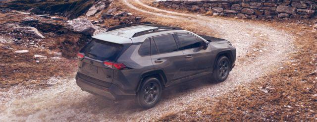 2020 Toyota RAV4 rear
