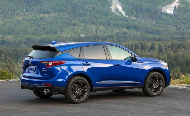 2021 Acura RDX rear