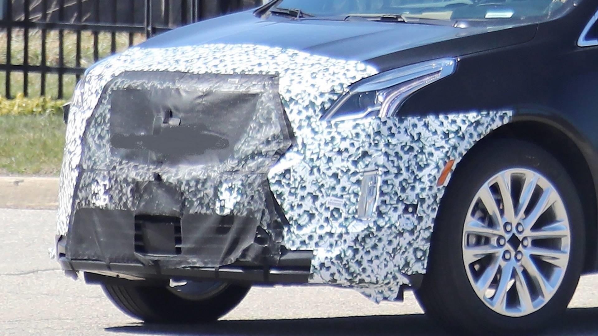 Neugestaltung 2021 Spy Shots Cadillac Xt5