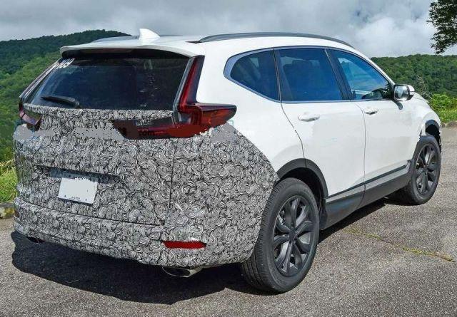 2021 Honda CR-V rear