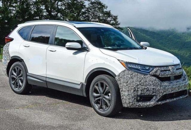 2021 Honda CR-V spy photo