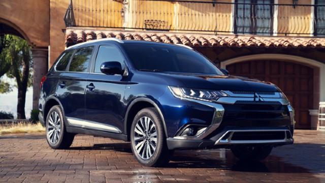 2021 Mitsubishi Outlander facelift