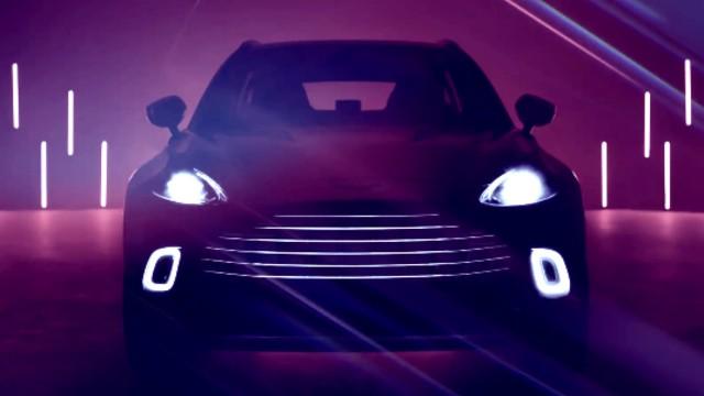 2021 Aston Martin DBX concept