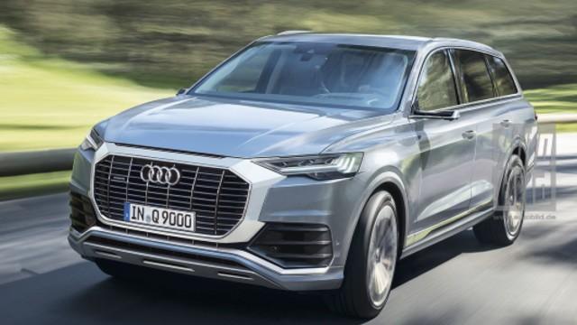 2021 Audi Q9 exterior
