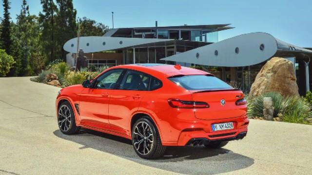 2021 BMW X4 M specs