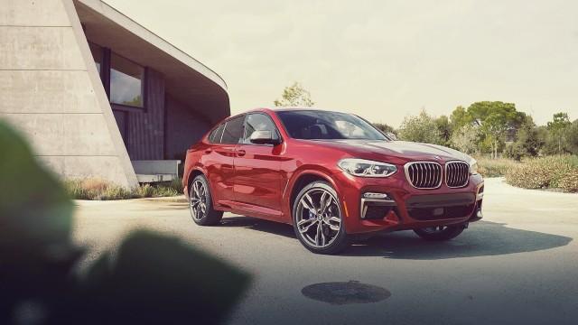 2021 BMW X4 exterior