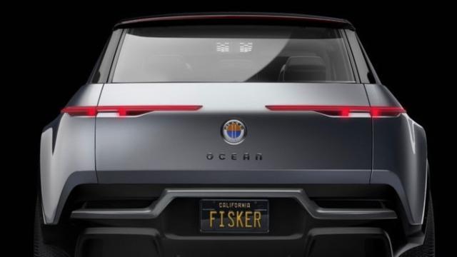 2021 Fisker Ocean rear