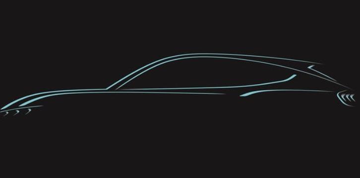 2021 Ford Mach E teaser