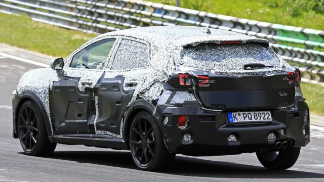 2021 Ford Puma ST Spy Shots