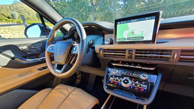 2021 Lincoln Corsair Grand Touring interior