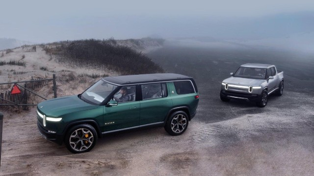 2021 Lincoln Electric SUV Rivian