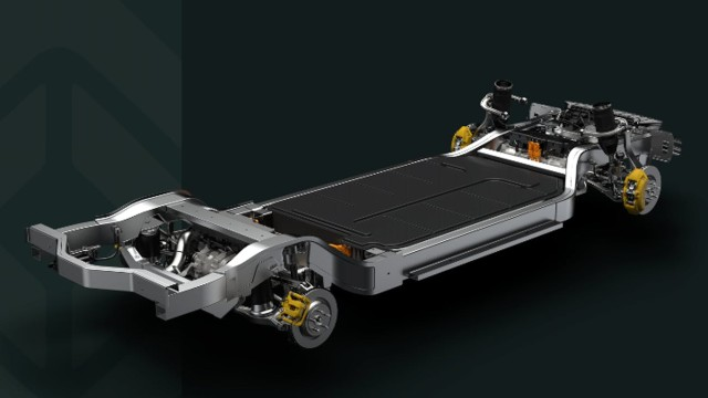 2021 Lincoln Electric SUV skateboard