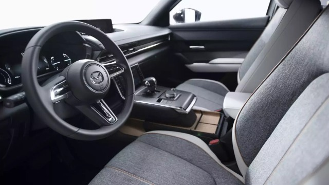 2021 Mazda MX-30 interior