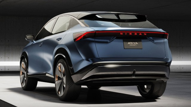 2021 Nissan Ariya design