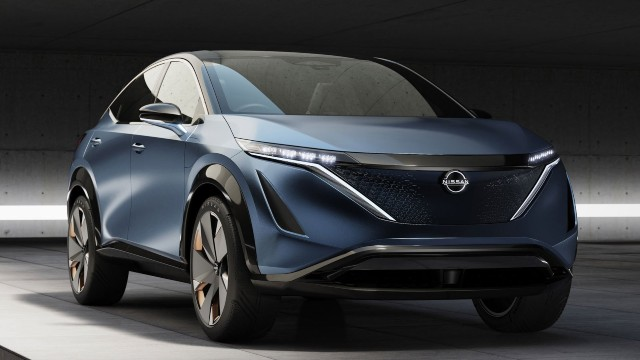 2021 nissan ariya - nissan unveils its new all-electric