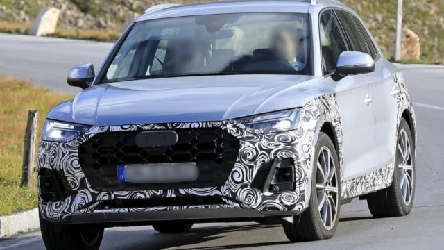 Spied 2021 Audi Q5 Shows Mid Cycle Refreshments 2021 Suvs