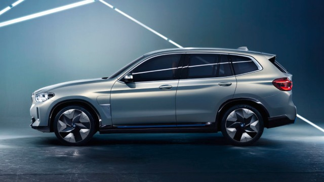 2021 BMW iX3 rendering