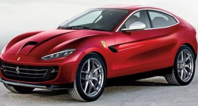 2021 Ferrari Purosangue design