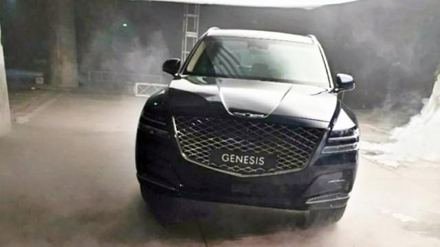 2021 Genesis GV80 exterior