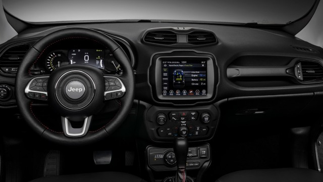 2021 Jeep Renegade PHEV interior