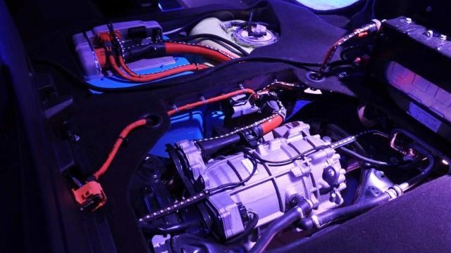 2021 Jeep Renegade PHEV motor