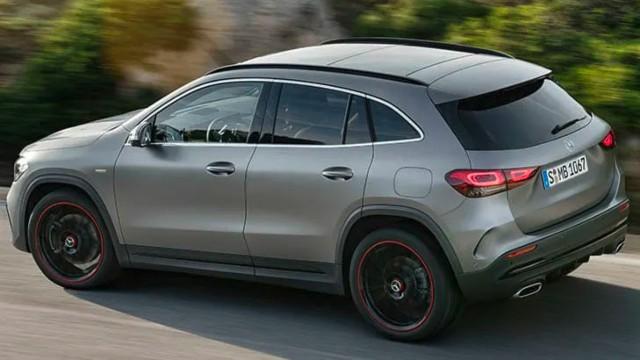 2021 Mercedes-Benz GLA exterior