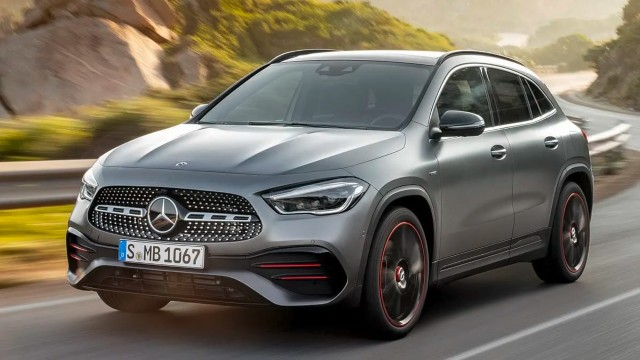 2021 Mercedes-Benz GLA facelift