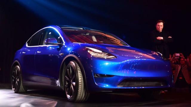 2021 Tesla Model Y exterior