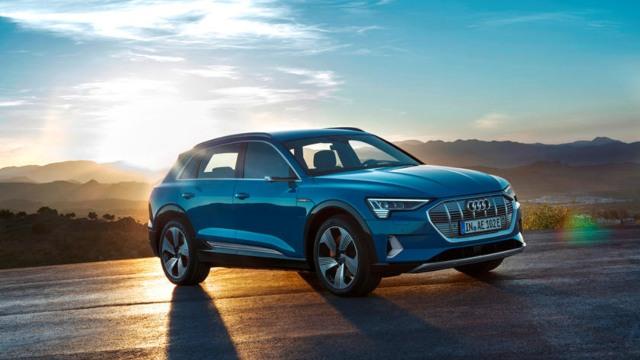 2021 Audi e-Tron exterior