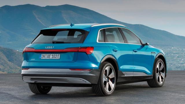 2021 Audi e-Tron rear