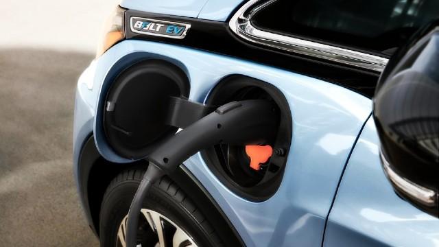 2021 Chevy Bolt EUV charging