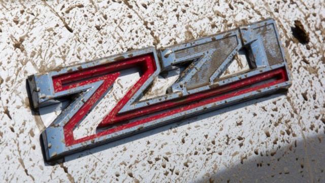 2021 Chevy Suburban Z71 emblem